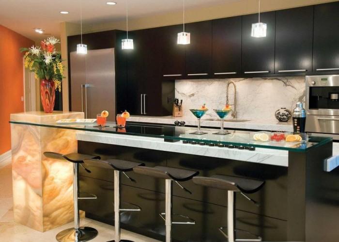 Jual Kitchen Set Mini Bar Minimalis Dengan Konsep Modern Jakarta Timur Mozaikfurnitur Tokopedia