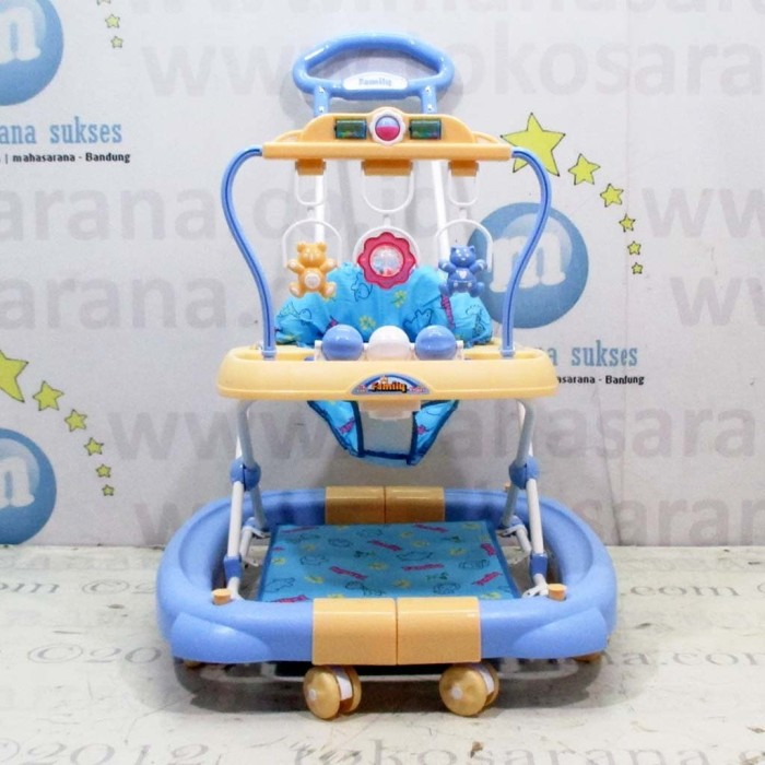 harga 3in1 family fb2068ld music mainan gantung baby walker, ayunan&dorongan Tokopedia.com