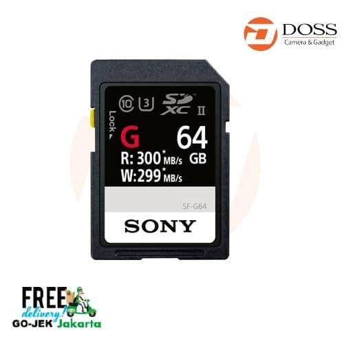 harga Sony 64gb sf-g series uhs-ii sdxc memory card Tokopedia.com