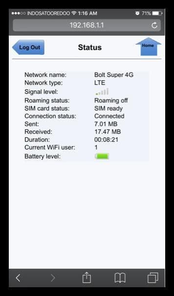 Antena Indoor Portable Mimo-X2 Bolt 4G Slim 2 Max 2 Huawei E5577 !!