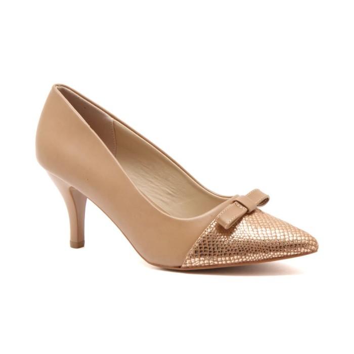 Sepatu wanita vicari ebema apricot - cokelat muda 36 90798d5289