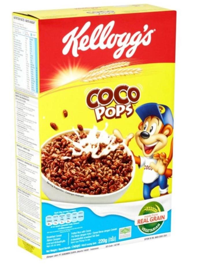 harga Kellogg's coco pops 220gr choco cereal kellogs Tokopedia.com