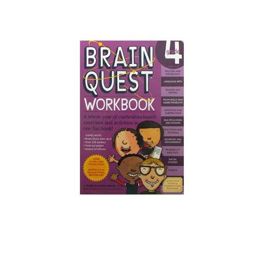 harga Brain quest workbook grade 4 ages 9-10 Tokopedia.com