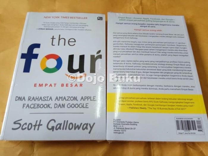 harga The four: dna rahasia amazon, apple, facebook, dan google by scott g Tokopedia.com