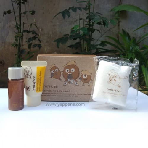 harga Innisfree jeju volcanic pore care kit Tokopedia.com