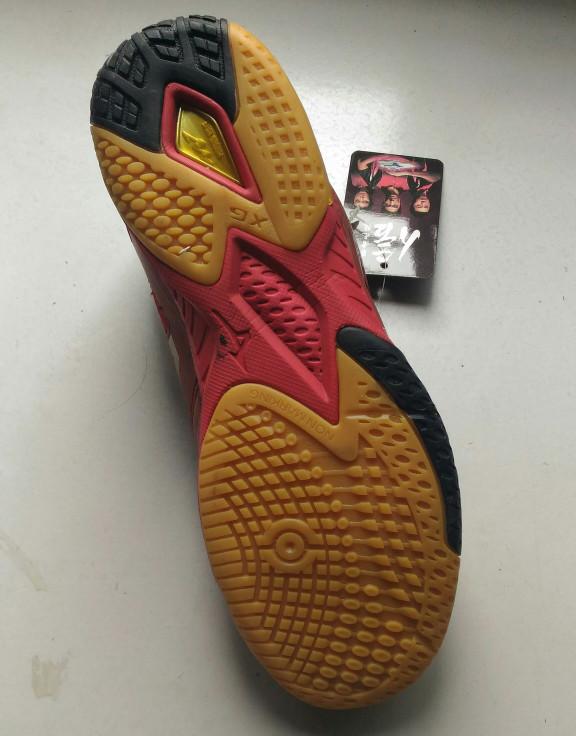 Jual Sepatu Pingpong   Tenis Meja Mizuno - Red - AquaSportZ  426d71a006
