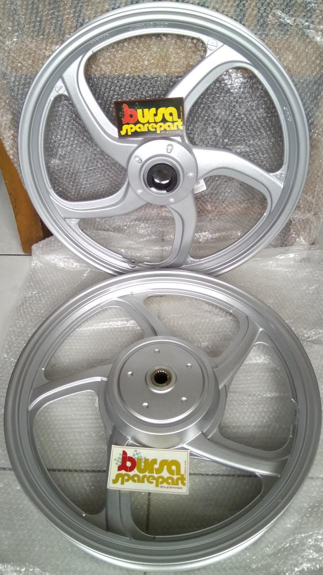 harga Velg 16 yamaha nouvo s malaysia alloy cast wheel warna silver original Tokopedia.com