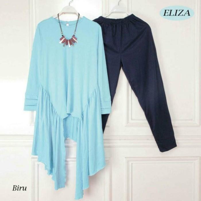 nm setelan st eliza set / baju wanita pakaian cewek celana kaos blouse
