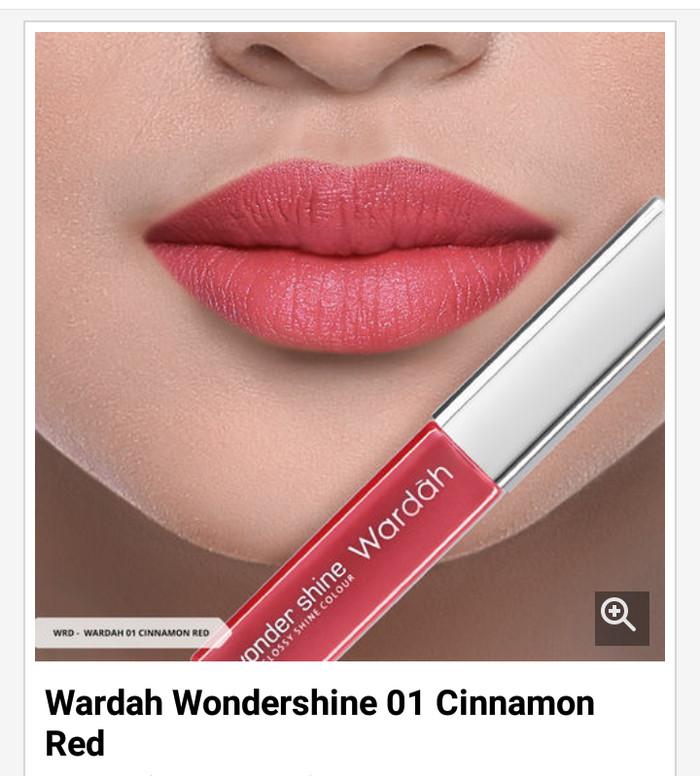 Jual Wardah Wondershine 01 Cinnamon Red adhyavita Tokopedia Source · Gambar Produk Wardah Wonder Shine .