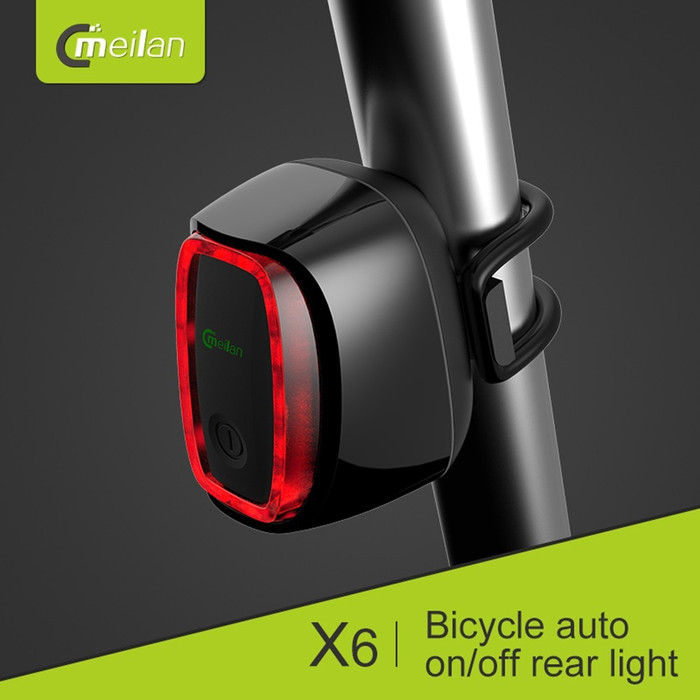harga Lampu belakang sepeda pintar smart light meilan x6 rechargeable Tokopedia.com