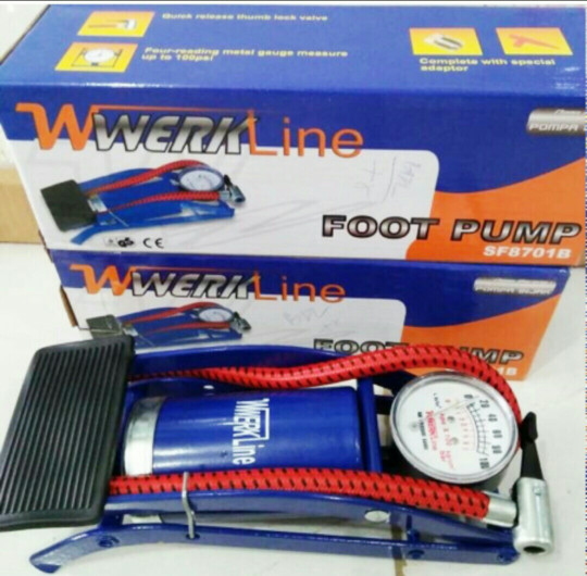 harga Pompa kaki werkline / atlantis pompa ban mobil motor manual darurat Tokopedia.com