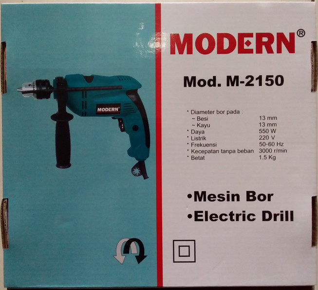 Mesin bor 13mm modern m2150
