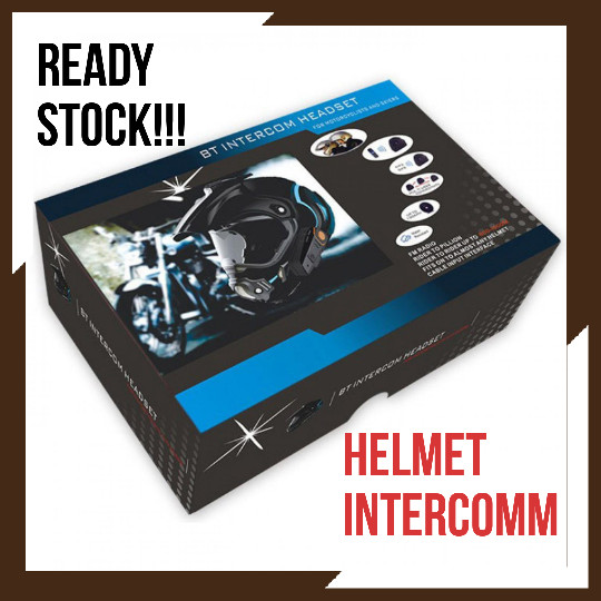 harga Promo bluetooth interphone helm motor 1000 meter intercomm interkom Tokopedia.com