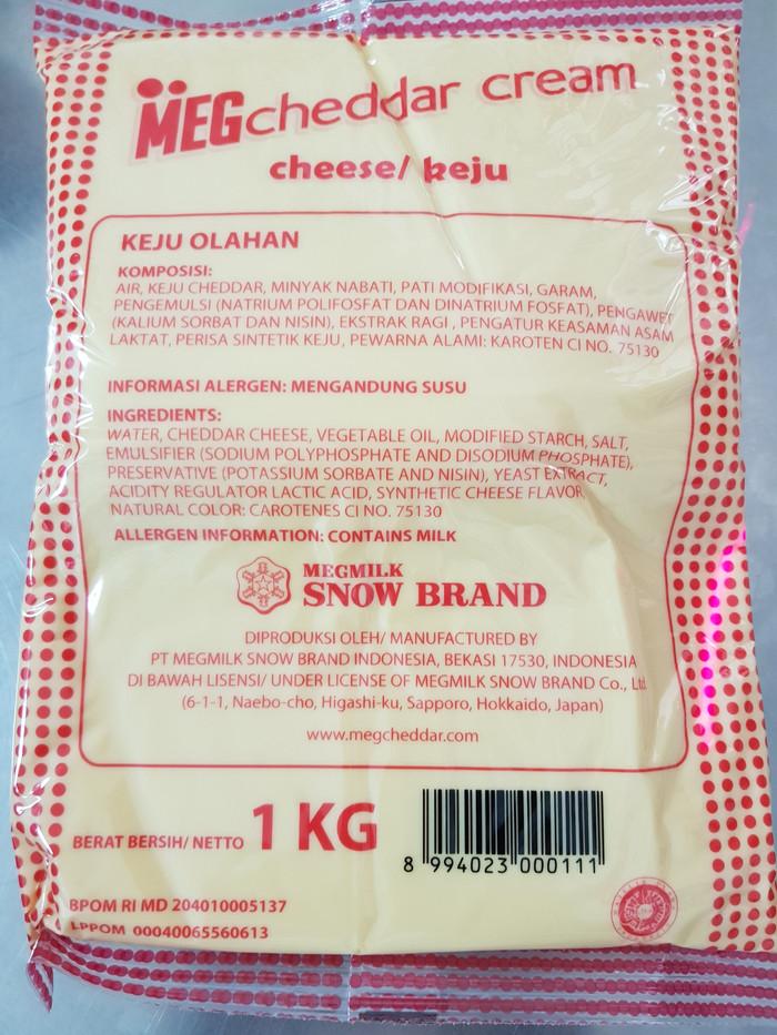 harga Meg cheddar cream cheese 1kg tidak perlu masuk kulkas Tokopedia.com