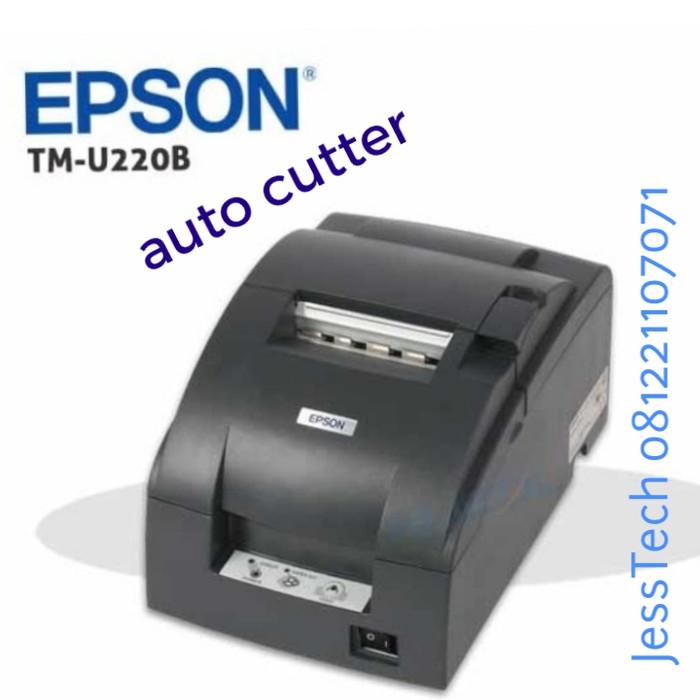 harga Printer kasir epson tmu 220 b tm u220 auto cutter dot matrix Tokopedia.com