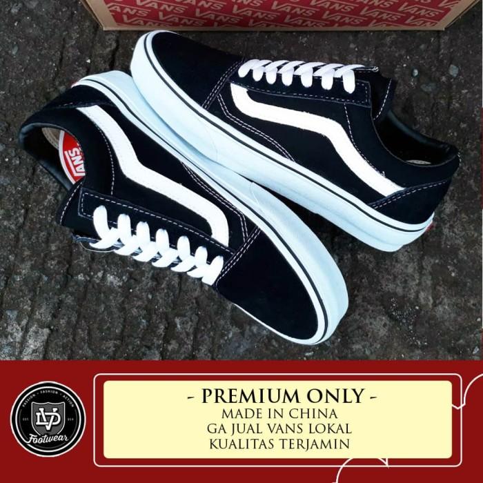 Sepatu vans oldskool classic black white premium original bnib harga ... bd59b06e04