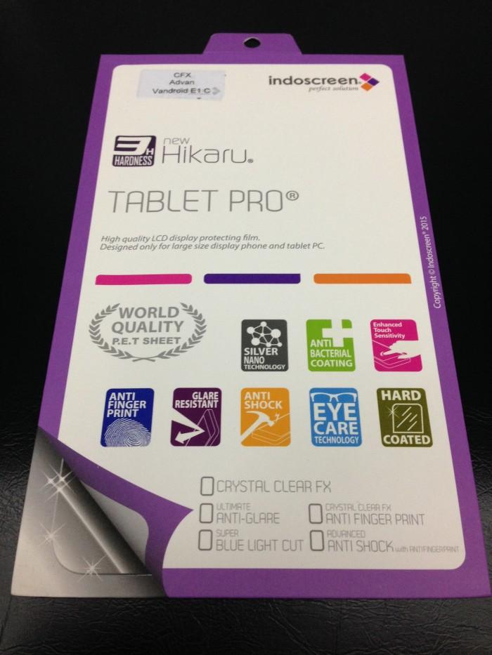 Antigores Minyak Anti Glare Hikaru Tablet pro Advan Vandroid E1C