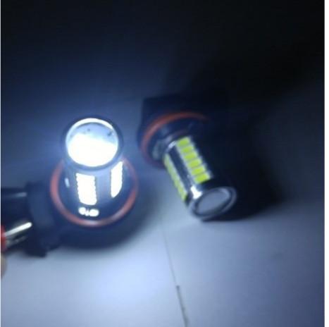 harga Foglamp h 11 led h11 33 titik lensa projector putih Tokopedia.com