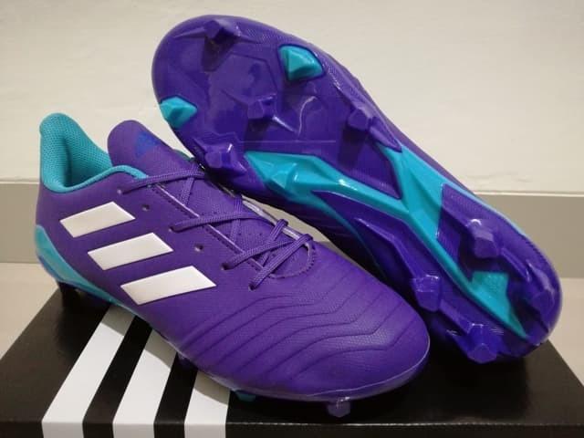 harga Sepatu bola - soccer adidas predator 18.4 purple - fg Tokopedia.com