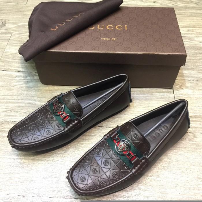 43b590c6b4b Jual ORI LEATHER Sepatu Loafers Gucci Brown - DKI Jakarta - Madam ...