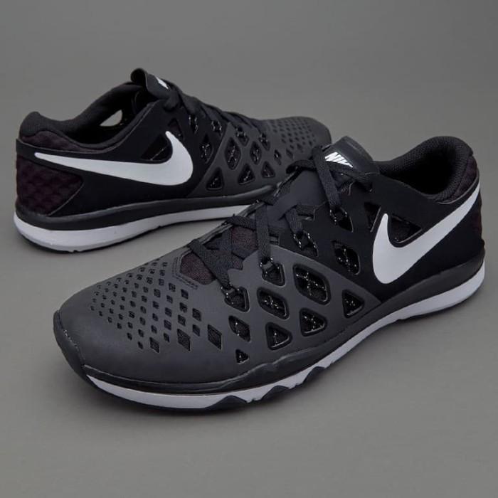 wholesale dealer 16e7f bf377 Sepatu Lari Original Nike Train Speed 4 Black White Black 843937010