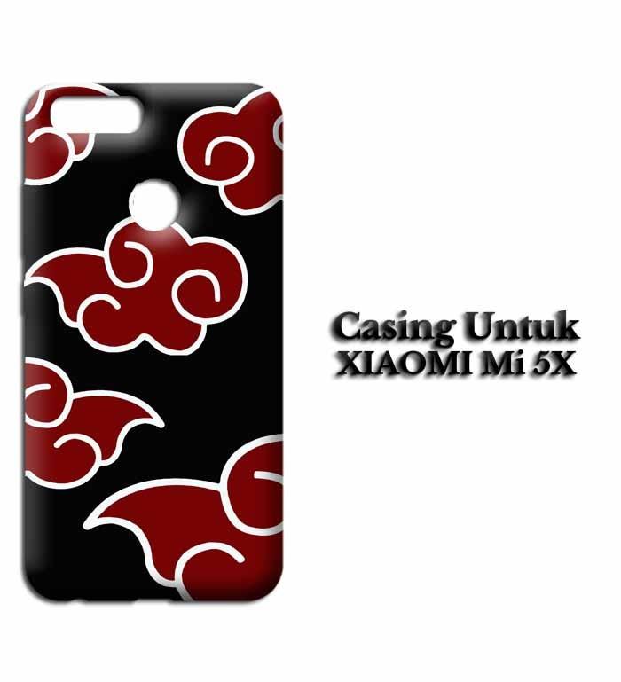 Jual Hardcase Xiaomi Mi5x Naruto Akatsuki Cloud Emblem Custom