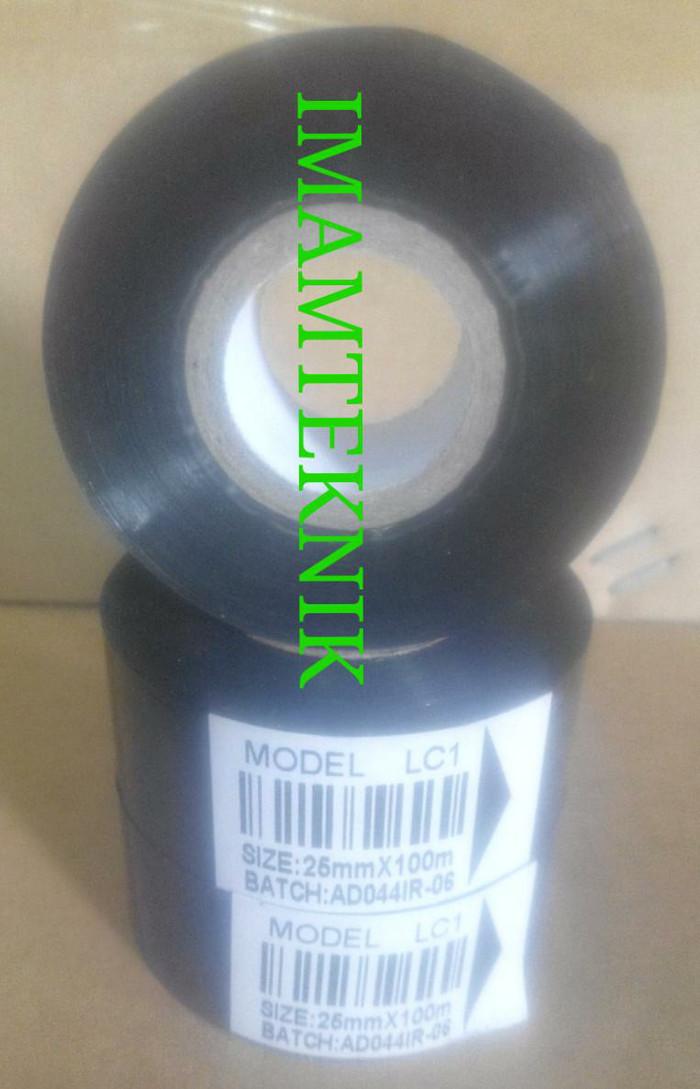 Pita Tinta ribbon foil ukuran 25mm x 100m