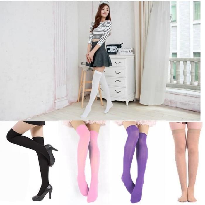 Kaos kaki panjang sepaha - harajuku socks - cosplay