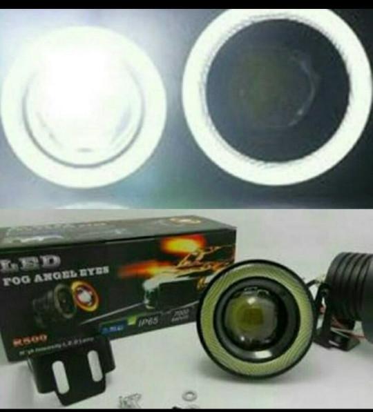 harga Led foglamp angel eyes lensa projector 89mm 76mm Tokopedia.com