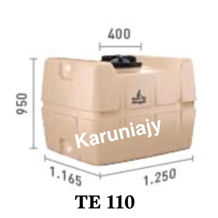 harga Penguin te 100 ( 1000 liter ) tangki air toren tandon persegi tank Tokopedia.com
