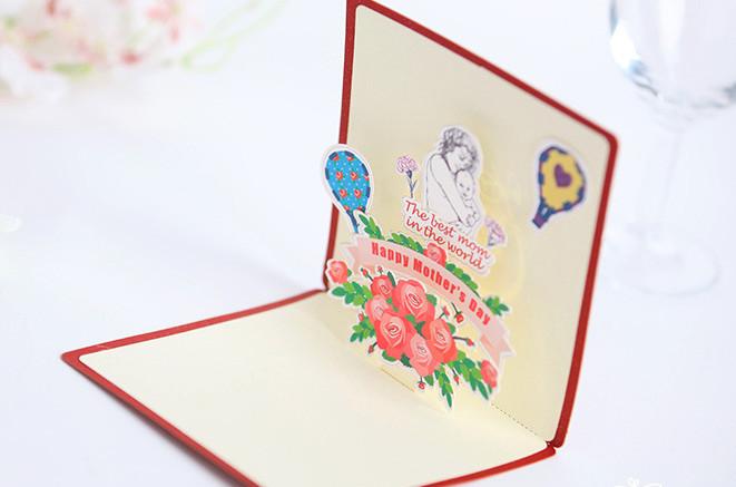 Jual Happy Mother Day Kartu Ucapan 3d Ibu Mama Selamat Hari Ibu Gift Card Kota Tangerang Toko Serba Komplits Tokopedia