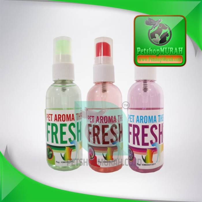 harga Parfume kucing / anjing - fresh aroma therapy spray all varian Tokopedia.com