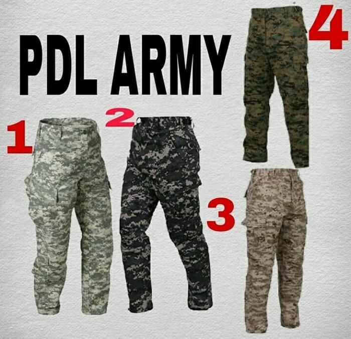 harga Celana cargo pdl woodland usa/celana tactical/celana panjang Tokopedia.com