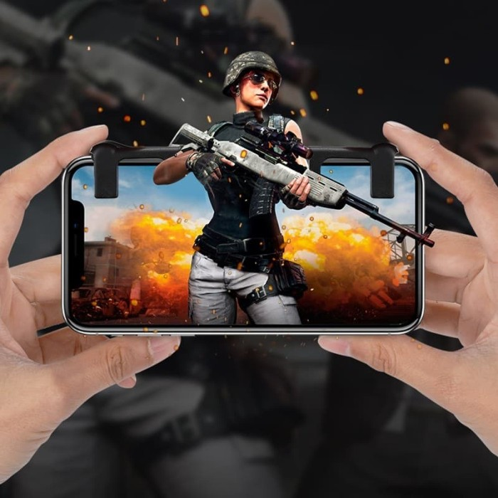 harga L1r1 fire button controller battle royale ros pubg ff android / ios Tokopedia.com