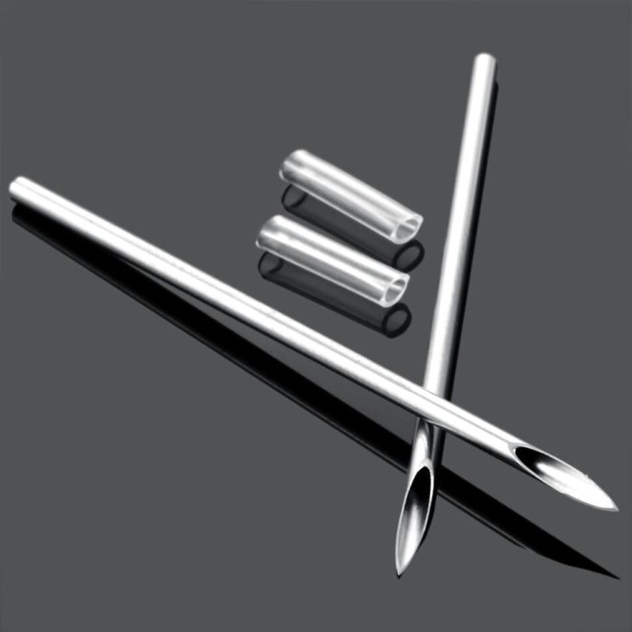 Foto Produk Jarum Tindik Piercing Needles Steril 20G 18G 16G 14G dari Harley Shop