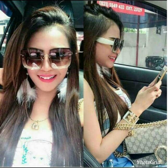 Foto Produk Best seller kacamata fashion sunglass wanita Miu miu gliter MD707 dari tokomurah aja