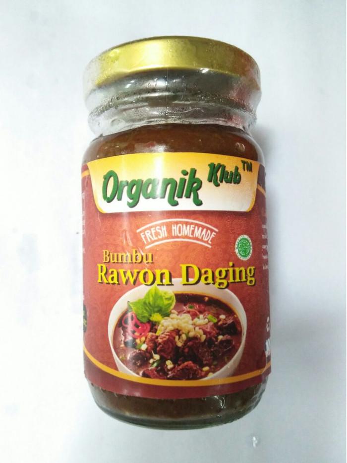 Bumbu rawon daging organik fresh homemade