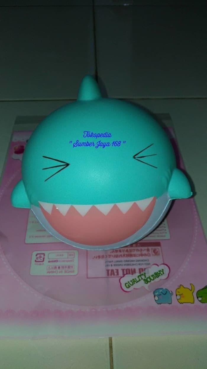 """Jual Squishy Baby Shark Green Super Jumbo Squishy Hiu Replica """"PAT PAT ZOO"""" Jakarta Barat Ravee Mart"""