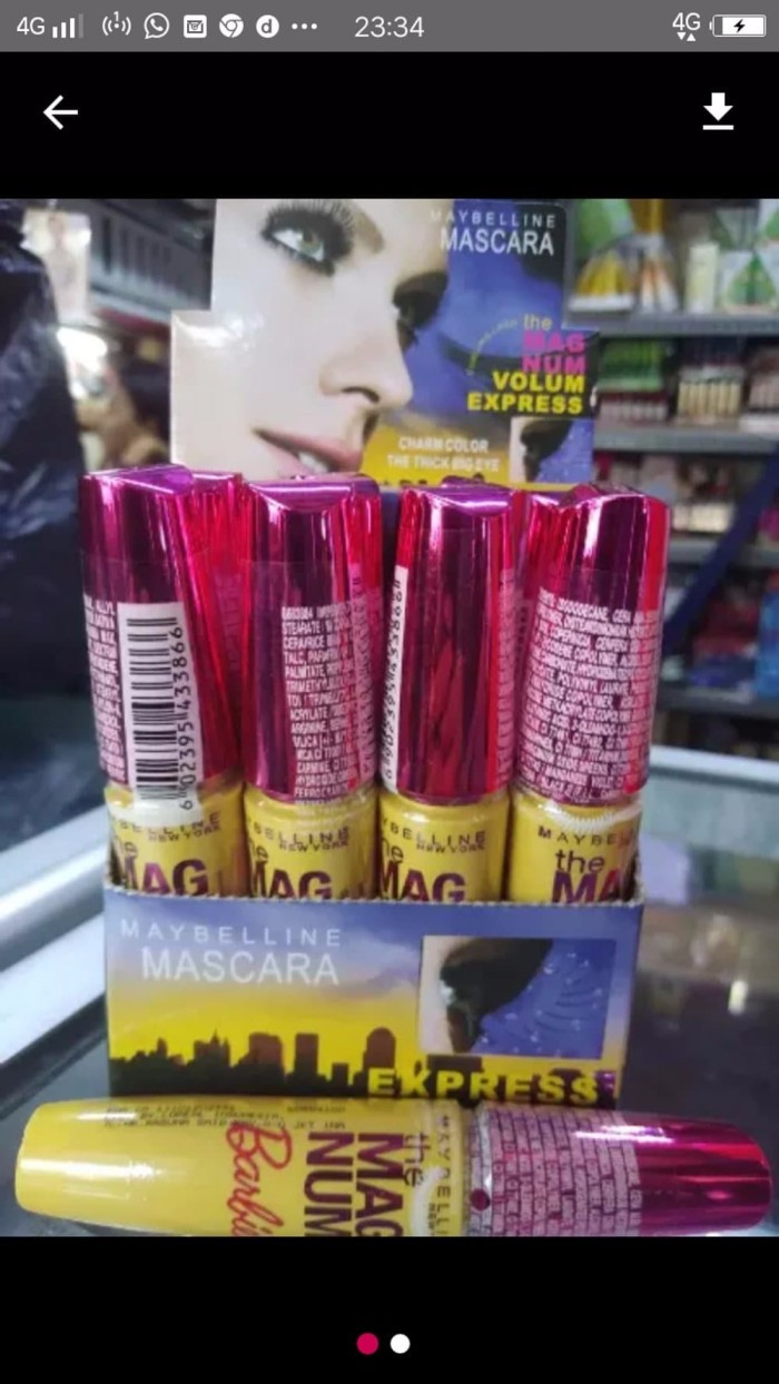 Segini Daftar Harga Murah Mascara Maybelline Magnum Terbaru 100 Ori Pw Info