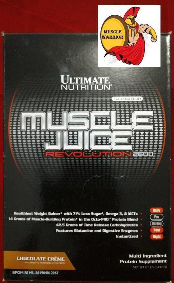 Muscle Juice Revolution 2 Lbs Box ULTIMATE NUTRITION Revo Susu Gainer