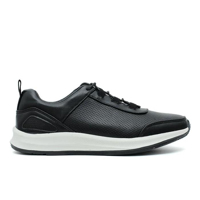 cavallero belton cci16601c18 men's casual shoes - black - hitam 45