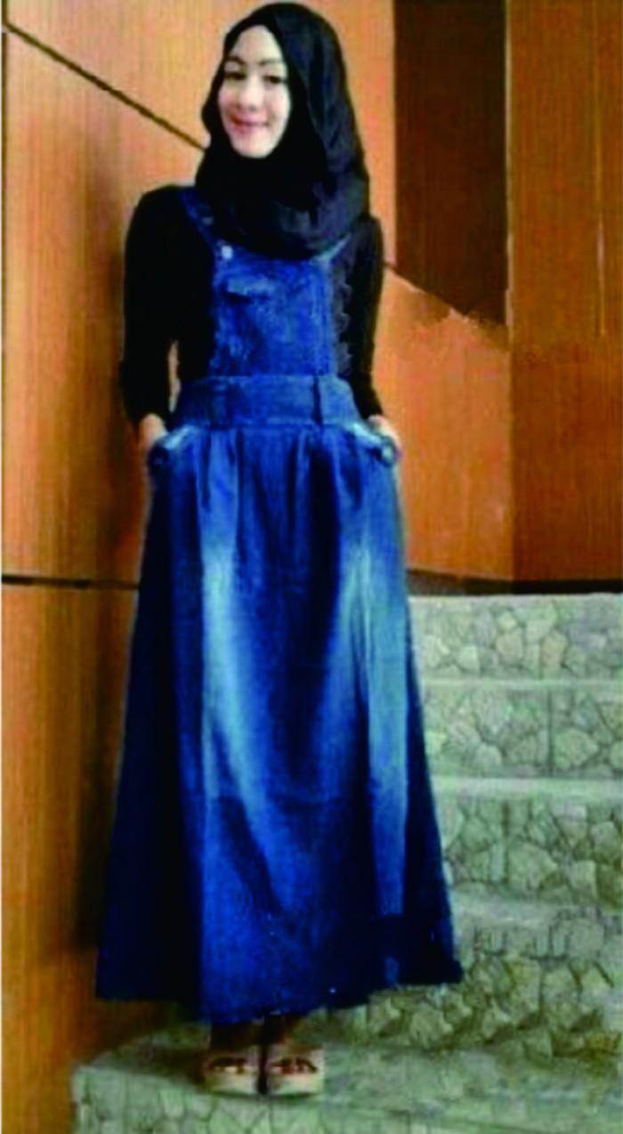 Jual Baju Kodok Jumpsuit Wanita Remaja Muslim Jeans Levis Blus Terusan