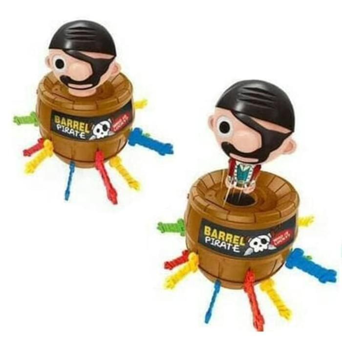 Foto Produk MAINAN ANAK Mainan Barrel Pirate -King Pirate Roulette -Running Man dari gallerytoyskid