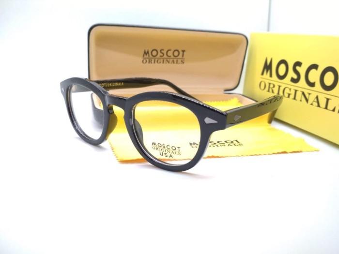 Jual Frame Kacamata Moscot USA lemtosh hitam glossy - kacamata minus ... 86972a6efa