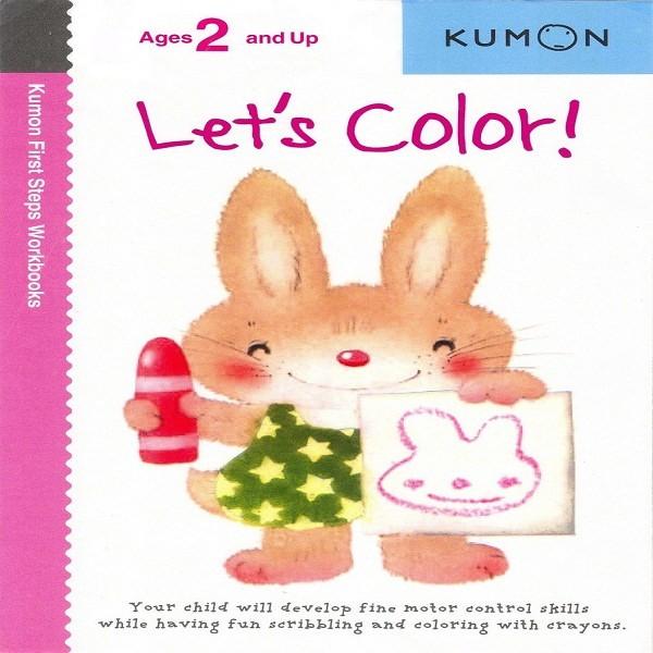 Foto Produk Buku Anak - Kumon - Let's Color dari Kumon Publishing INA