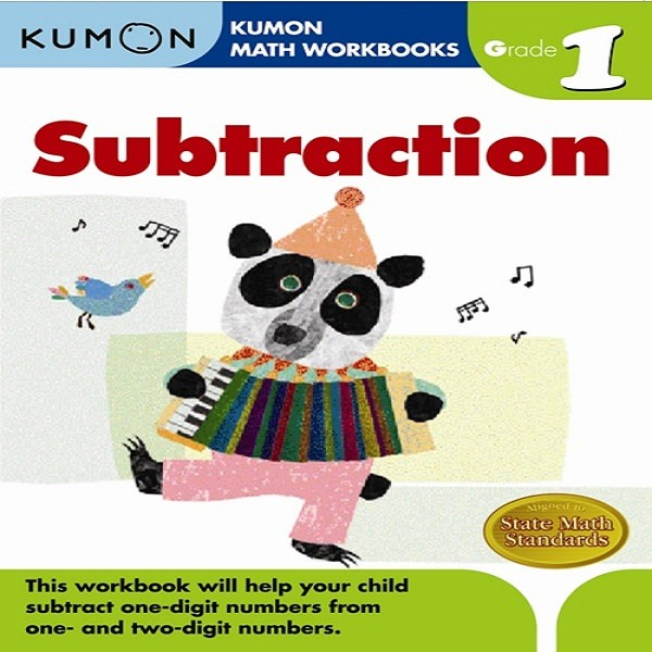 Foto Produk Buku Anak - Kumon - Grade 1 Subtraction dari Kumon Publishing INA