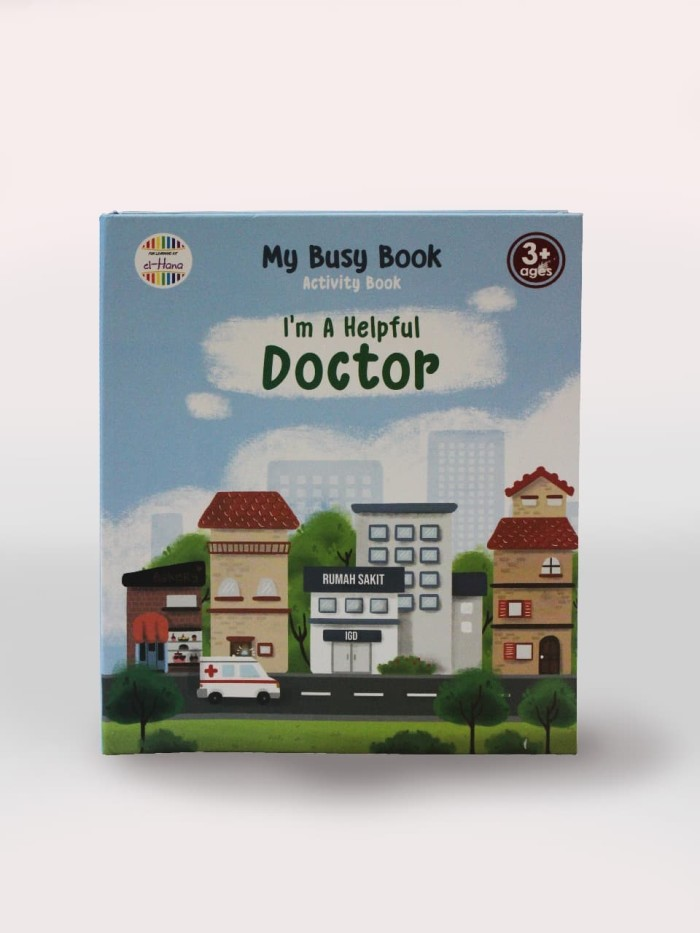 Mainan Edukasi elhana - Busy Book I'm a Helpful Doctor
