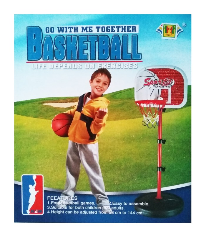 harga Mainan anak laki-laki dan perempuan, ring basket plus bola dan pompa Tokopedia.com
