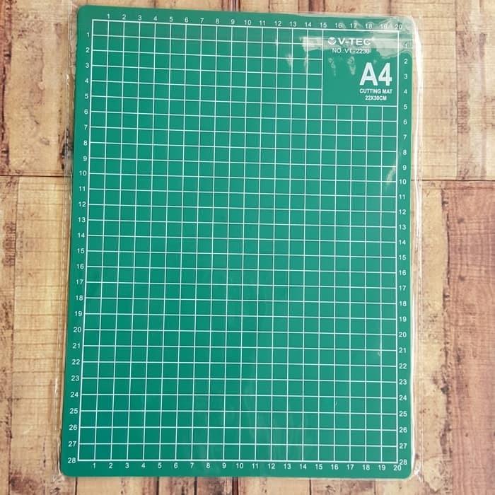 harga Cutting mat v-tec a4 alat pemotong kertas cuting board alas potong Tokopedia.com