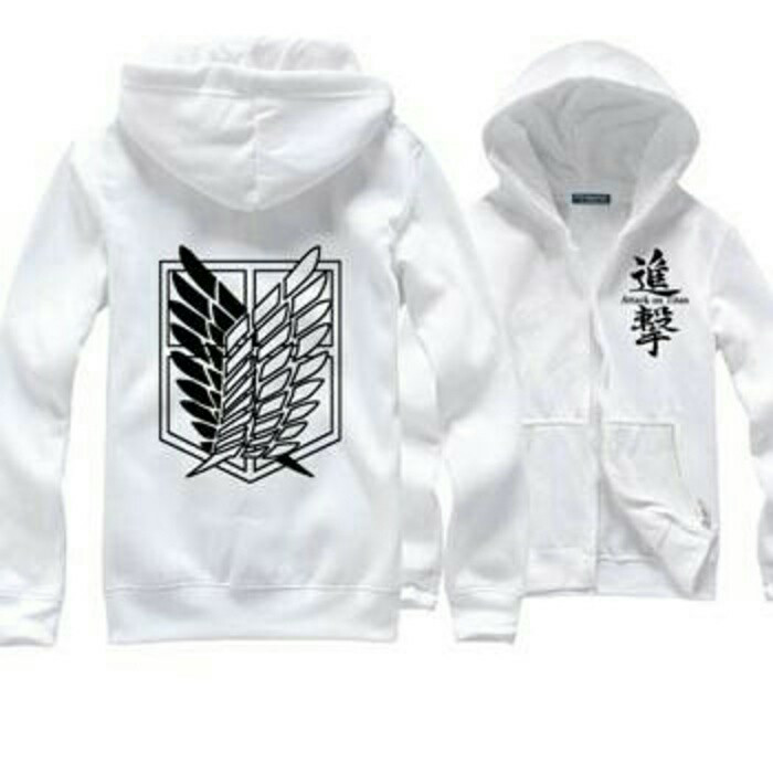 Jaket Anime Distro SNK Attack On TiTan